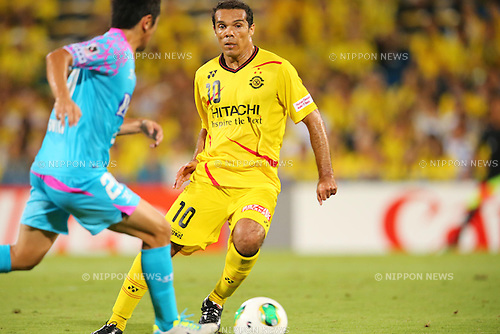 Leandro Domingues (Reysol), AUGUST 3, 2013 - Football / Soccer : 2013 J.LEAGUE Division 1 match between Kashiwa Reysol 2-1  Sagan Tosu at Hitachi Kashiwa Stadium, Chiba, Japan. (Photo by AFLO SPORT) [1156]