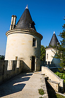 France, Mirambeau. Château de Mirambeau, today a five star hotel.
