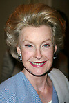 Dina Merrill attends The 68th Annual Drama League<br /> Awards Luncheon at The Grand Hyatt Hotel, New York City on May 10, 2002.