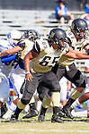 Palos Verdes, CA 09/13/13 - Jeric Lagmay (Peninsula #65) in action during the Culver City vs Palos Verdes Peninsula High School Varsity Football game at Palos Verdes Peninsula HIgh School.