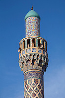 United Arab Emirates, Dubai: Minaret of the Iranian Mosque