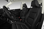 Front seat view of 2017 Volkswagen Tiguan S-4Motion 5 Door SUV Front Seat  car photos