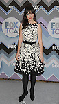 PASADENA, CA - JANUARY 08: Zooey Deschanel arrives at the 2013 TCA Winter Press Tour - FOX All-Star Party at The Langham Huntington Hotel and Spa on January 8, 2013 in Pasadena, California.