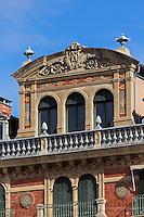 Espagne, Navarre, Pampelune:   place del Castillo  //  Spain, Navarre, Pamplona:  , Plaza del Castillo