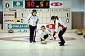 (L-R) Miyuki Sato, Emi Shimizu, Miyo Ichikawa (JPN),.JANUARY 25, 2012 - Curling :.2012 Karuizawa International Curling Championship Women's 1st Game between South Korea 9-5 Japan at SCAP Karuizawa in Nagano, Japan. (Photo by Hitoshi Mochizuki/AFLO)