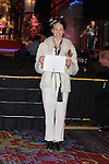 "Olympic figure skater Johnny Weir becomes Sir Johnny Weir at ceremony at the Imperial Court of New York's 26th ""Night of a Thousand Gowns"" on March 31, 2012 at the New York Marriott Marquis, New York City, New York.  (Photo by Sue Coflin/Max Photos)"