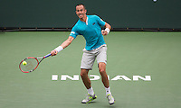 LUKAS ROSOL (CZE)<br /> <br /> Tennis - BNP PARIBAS OPEN 2015 - Indian Wells - ATP 1000 - WTA Premier -  Indian Wells Tennis Garden  - United States of America - 2015<br /> &copy; AMN IMAGES
