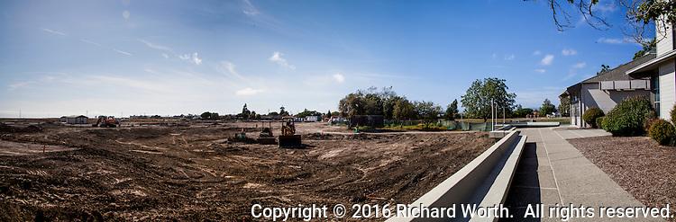 Progress on renovating San Lorenzo Park, The Duck Pond.  June 14, 2016