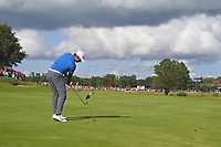 Julian Suri (USA) on the 18th fairway during Round 4 of the Made in Denmark at Himmerland Golf &amp; Spa Resort, Farso, Denmark. 27/08/2017<br /> Picture: Golffile | Thos Caffrey<br /> <br /> All photo usage must carry mandatory copyright credit     (&copy; Golffile | Thos Caffrey)
