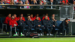 Jose Mourinho manager of Manchester United looks on from the bench during the UEFA Europa League Final match at the Friends Arena, Stockholm. Picture date: May 24th, 2017.Picture credit should read: Matt McNulty/Sportimage