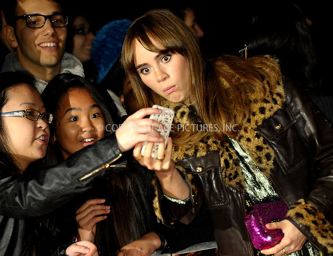 WWW.ACEPIXS.COM<br /> <br /> US SALES ONLY<br /> <br /> October 6, 2014, London, England<br />  <br /> Suki Waterhouse arriving at the World Premiere of 'Love, Rosie' held at Odeon West End on October 6, 2014 in London, England.<br /> <br /> By Line: Famous/ACE Pictures<br /> <br /> ACE Pictures, Inc<br /> Tel: 646 769 0430<br /> Email: info@acepixs.com
