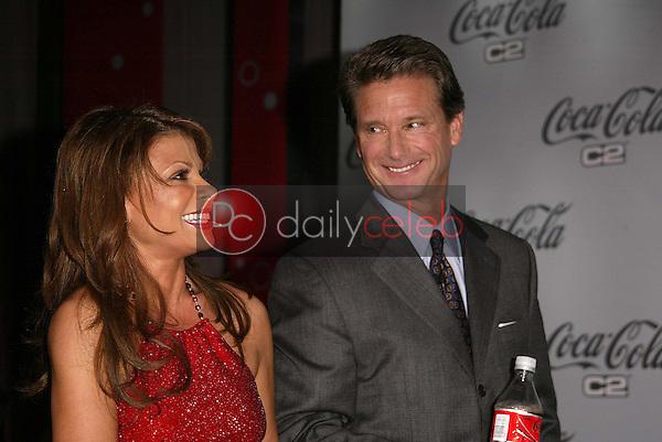 Paula Abdul and Coca Cola COO Don Knauss