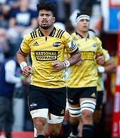DURBAN, SOUTH AFRICA - JUNE 01: Ardie Savea of the Hurricanes during the Super Rugby match between Cell C Sharks and Hurricanes at Jonsson Kings Park Stadium in Durban, South Africa on Saturday, 1 June 2019. Photo by Steve Haag / stevehaagsports.com