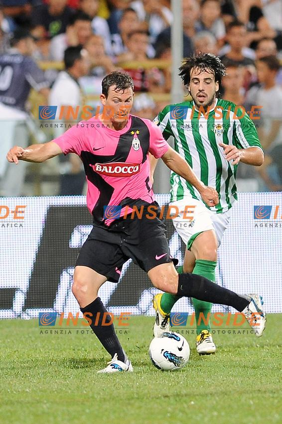 stephan lichtsteiner (juventus)..salerno 13-08-2011..football juventus real betis..foto insidefoto massimo oliva