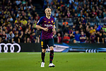 Andres Iniesta of FC Barcelona in action during the La Liga match between Barcelona and Real Sociedad at Camp Nou on May 20, 2018 in Barcelona, Spain. Photo by Vicens Gimenez / Power Sport Images