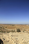 Israel, Shephelah, excavations in Tel Zafit, identified as Biblical Gath, one of the ancient Canaanite and Philistine five cities (along with Gaza, Ekron, Ashkelon, and Ashdod)