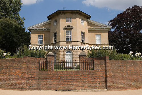 Asgill House overlooking the river Thames. Richmond on Thames, Surrey UK 2007