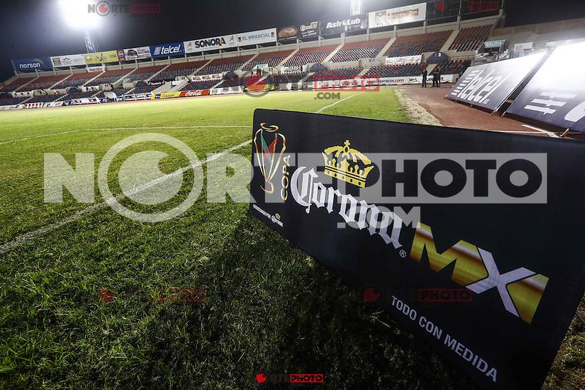 Cimarrones de Sonora vs Xholos de Tijuana durante el primer juego CopaMX. 17ene2017<br /> &copy;Foto: LuisGutierrrez/NortePhoto.com