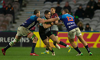 Harlequins' Cadan Murley in action during todays match<br /> <br /> Photographer Bob Bradford/CameraSport<br /> <br /> European Rugby Challenge Cup Pool 5 - Harlequins v Benetton Treviso - Saturday 15th December 2018 - Twickenham Stoop - London<br /> <br /> World Copyright &copy; 2018 CameraSport. All rights reserved. 43 Linden Ave. Countesthorpe. Leicester. England. LE8 5PG - Tel: +44 (0) 116 277 4147 - admin@camerasport.com - www.camerasport.com