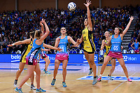 Pulse&rsquo; Sulu Fitzpatrick in action during the ANZ Premiership - Pulse v Steel at Te Rauparaha Arena, Porirua, New Zealand on Wednesday 30 May 2018.<br /> Photo by Masanori Udagawa. <br /> www.photowellington.photoshelter.com
