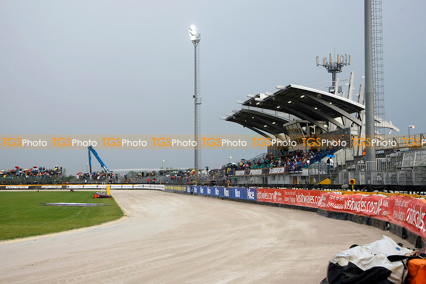 Olimnpia Stadium Terenzano..FIM Speedway Grand Prix at Terenzano, Italy - 30/07/11 - MANDATORY CREDIT: Rafal Wlosek/TGSPHOTO - Self billing applies where appropriate - 0845 094 6026 - contact@tgsphoto.co.uk - NO UNPAID USE..