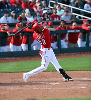 Jose Garcia - Cincinnati Reds 2020 spring training (Bill Mitchell)