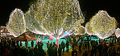 Lighting of the Bentonville Square