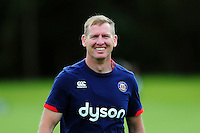 Bath Rugby coach Barry Maddocks is all smiles. Bath Rugby pre-season training session on August 9, 2016 at Farleigh House in Bath, England. Photo by: Rhys Priestland of Bath Rugby for Onside Images
