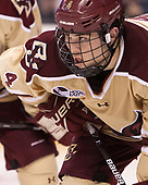 Michael Kim (BC - 4) - The Boston University Terriers defeated the Boston College Eagles 3-1 in their opening Beanpot game on Monday, February 6, 2017, at TD Garden in Boston, Massachusetts.