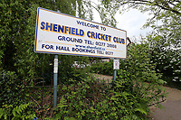 Entry to Shenfield CC during Shenfield CC (batting) vs Hornchurch CC (Bowling) ,Shepherd Neame Essex League Cricket at Chelmsford Road on 12th May 2018
