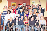 Miriam Kelly Currow and Donnacha Ryan Castleisland seated centre celebrated their engagement with their family and friends in the Kingdom House bar Castleisland on Saturday night..   Copyright Kerry's Eye 2008