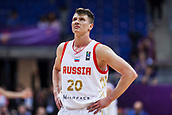 7th September 2017, Fenerbahce Arena, Istanbul, Turkey; FIBA Eurobasket Group D; Russia versus Great Britain; Forward Andrey Vorontsevich #20 of Russia looks on during the match