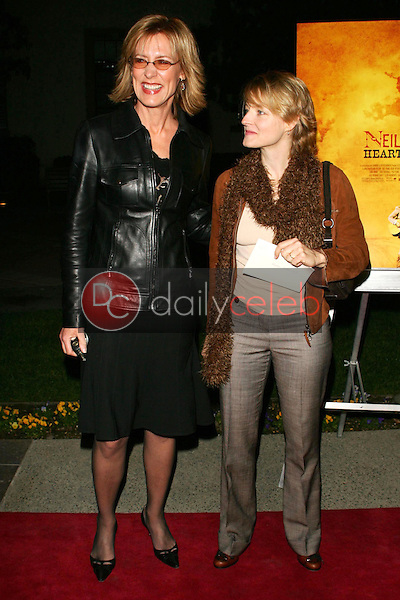 Christine Lahti and Jodie Foster<br />