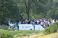 Kevin Kisner (USA) in action during the third round of the Northern Trust played at Liberty National Golf Club, Jersey City, USA. 10/08/2019<br /> Picture: Golffile | Phil INGLIS<br /> <br /> All photo usage must carry mandatory copyright credit (© Golffile | Phil Inglis)