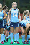 25 September 2016: North Carolina's Emma Bozek. The University of North Carolina Tar Heels hosted the Duke University Blue Devils at Francis E. Henry Stadium in Chapel Hill, North Carolina in a 2016 NCAA Division I Field Hockey match. UNC won the game 3-2.