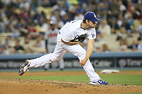 05/26/15 Los Angeles, CA: Los Angeles Dodgers starting pitcher Clayton Kershaw #22 during an MLB game played at Dodger Stadium between the Los Angeles Dodgers and the Atlanta Braves. The Dodgers defeated the Braves 8-0.