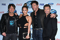 Keith Urban, Jennifer Lopez, Harry Connick Jr., Ryan Seacrest<br />