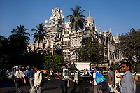A train station in central Mumbai, India. Photo by Suzanne Lee