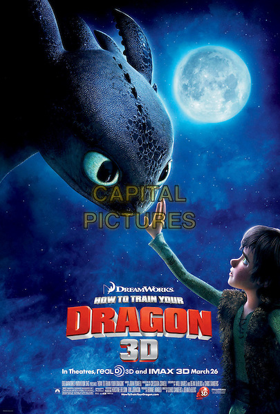 KEY POSTER ART .in How to Train Your Dragon .*Filmstill - Editorial Use Only*.CAP/FB.Supplied by Capital Pictures.