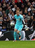 Pictured: Gerhard Tremmel. Sunday 24 February 2013<br /> Re: Capital One Cup football final, Swansea v Bradford at the Wembley Stadium in London.