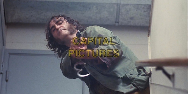 Joaquin Phoenix <br /> in Inherent Vice (2014)<br /> *Filmstill - Editorial Use Only*<br /> CAP/NFS<br /> Image supplied by Capital Pictures