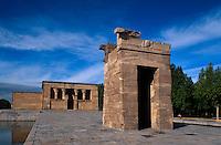 Templo de Debod in Madrid, ägyptischer Tempel aus dem 4.Jh. vor Christus, Spanien
