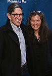 "Randy Weiner and Diane Paulus attending the Broadway Opening Night Performance of  ""What The Constitution Means To Me"" at the Hayes Theatre on March 31, 2019 in New York City."