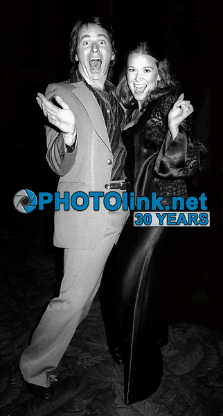 John Ritter and wife at Studio 54 1978<br /> Photo By Adam Scull/PHOTOlink.net