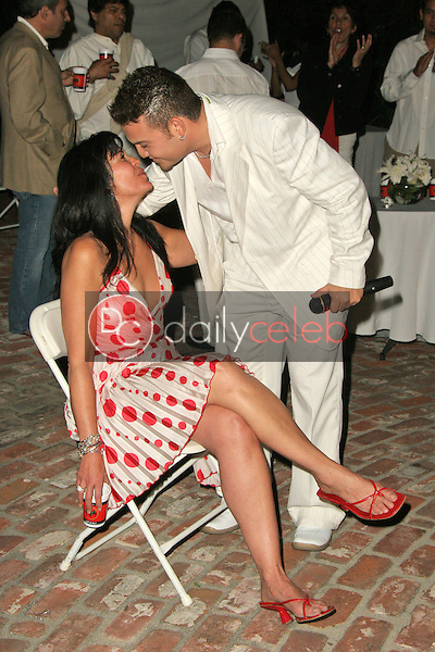 Maria Conchita Alonso is serenaded<br />