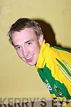 Jason Feeley.............at  the Kilmoyley team press night ahead of the County Hurling Final