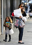Jodi Gordon With Daughter Aleeia Out & About In Double Bay
