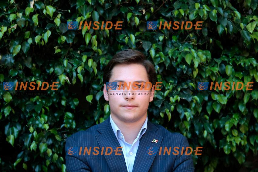 Alessandro Bertoldi, il pi&ugrave;' giovane dirigente nazionale del PDL<br /> Roma 18/06/2013 Hotel Nazionale. Conferenza stampa di presentazione della organizzazione nazionale dell'Esercito di Silvio.<br /> Photo Samantha Zucchi Insidefoto