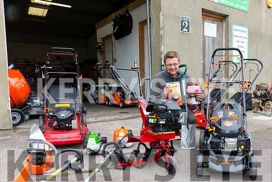 Paudie Kelliher from Kellihers Lawn Mowers Sales & Repairs Cahersiveen.