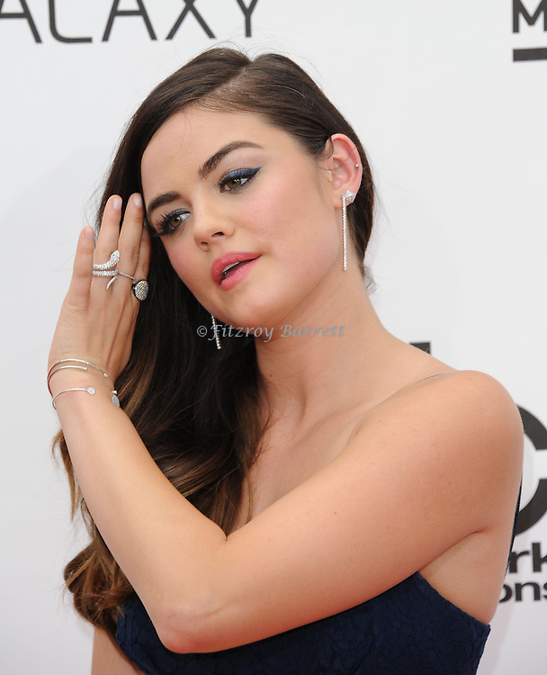 Lucy Hale arriving at the 'Billboard 2014 Music Awards' held at MGM Grand Hotel in Las Vegas Nevada. May 18, 2014.